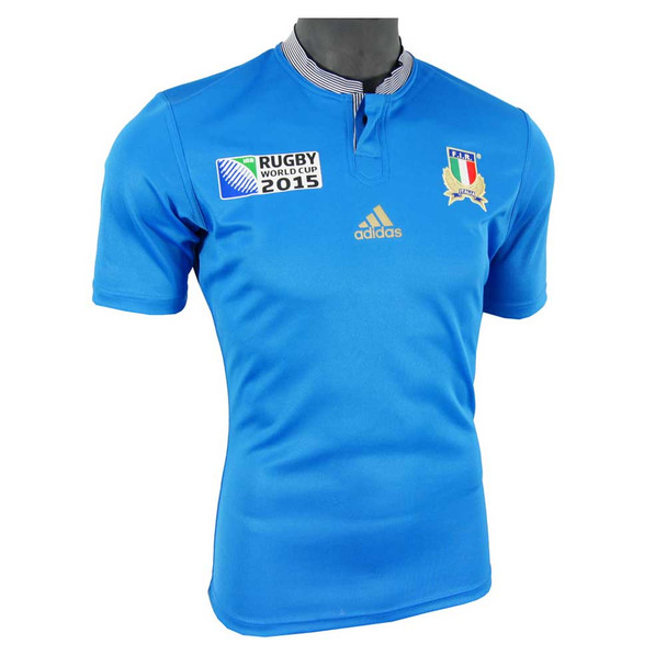 ADIDAS italy RWC 2015 home rugby shirt