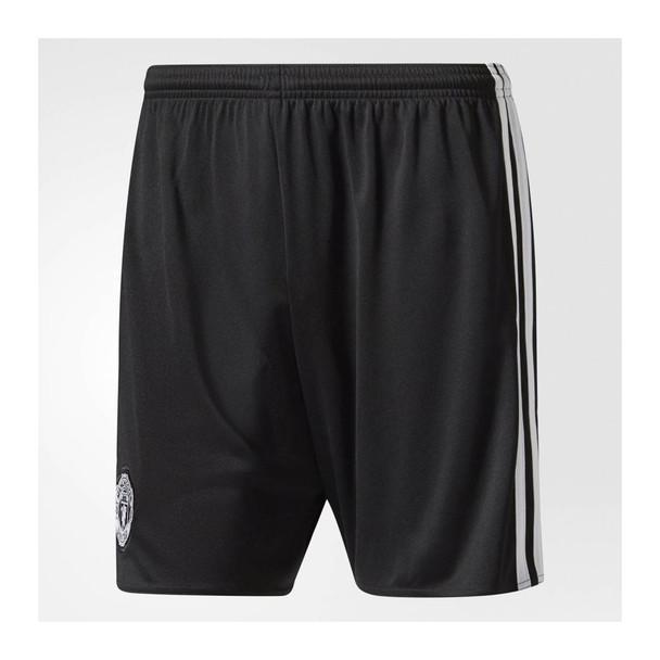 ADIDAS manchester united away football shorts [black]