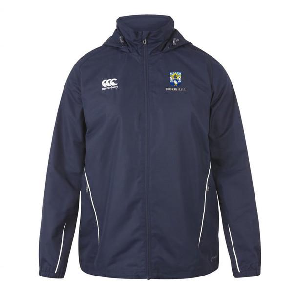 CCC team full zip rain jacket TOPSHAM