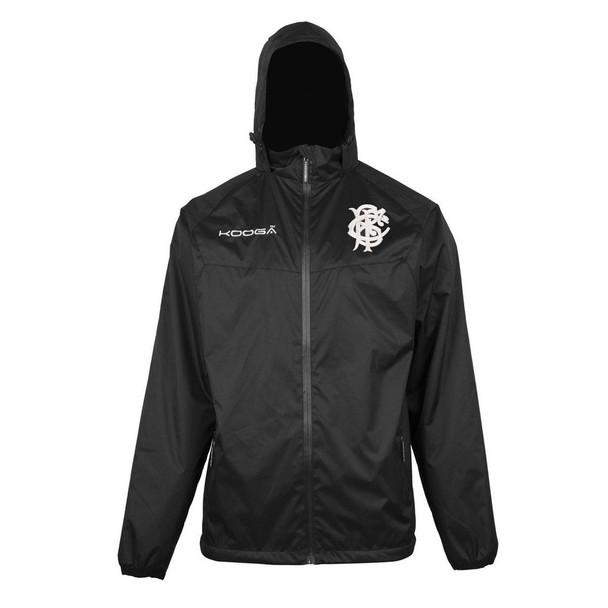 KOOGA barbarians rugby elite barrier showerproof jacket [black]
