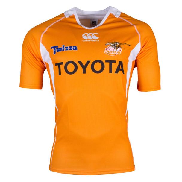 CCC Cheetahs 2017 Super Rugby Home Jersey - Mens [orange]
