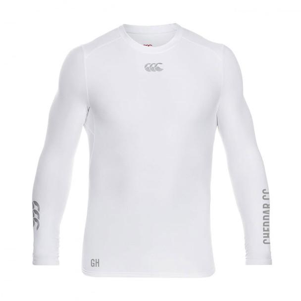 CCC thermoreg long sleeve baselayer shirt CHEDDAR CRICKET