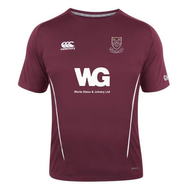 CCC vapodri team performance dry t-shirt CHEDDAR CRICKET