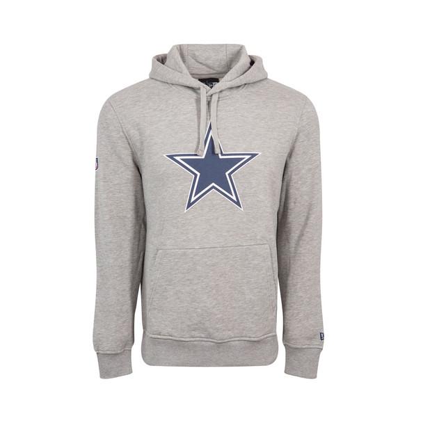 NEW ERA dallas cowboys team logo NFL hoodie [grey]