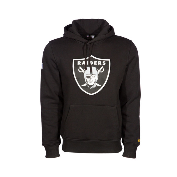 NEW ERA las vegas raiders team logo NFL hoodie [black]