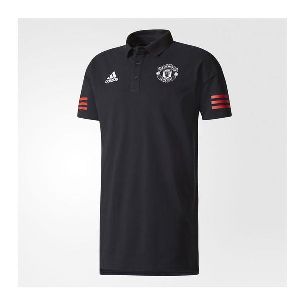 ADIDAS Manchester United eu Polo [black/red]