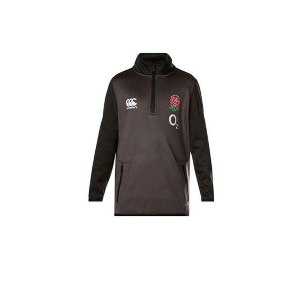 CCC England 2017/18 thermoreg 1/4 zip rugby training top [tap shoe]