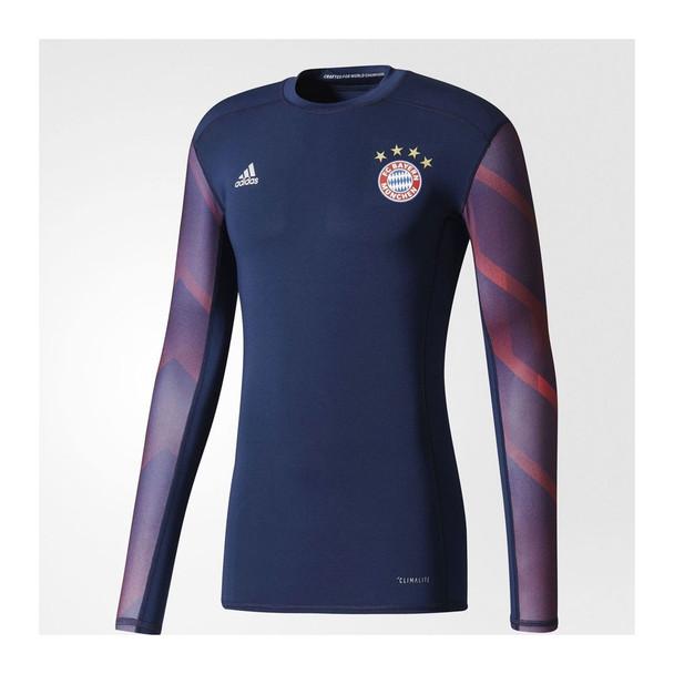 ADIDAS bayern munich football (FCB) pre-match techfit jersey [navy]