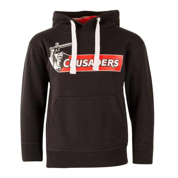 Crusaders Super Rugby Hooded Sweat [black]