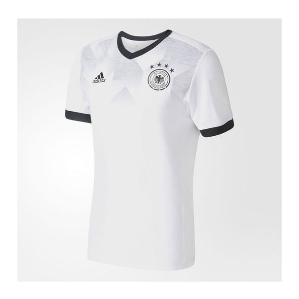ADIDAS germany football pre-match jersey [white]
