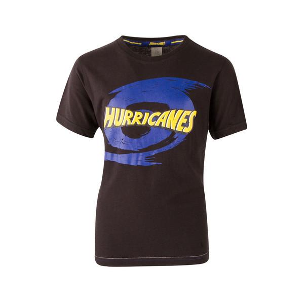 BrandCo kids hurricanes super rugby tee shirt [black]