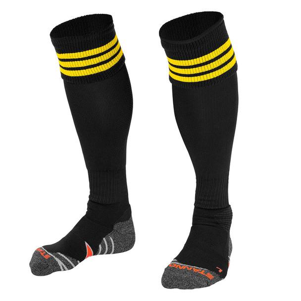 STANNO ring socks [black/gold] junior