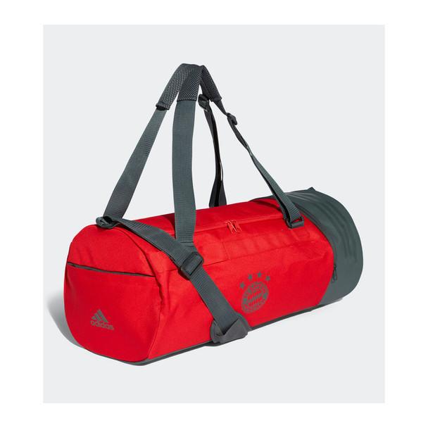 ADIDAS Bayern Munich football holdall duffle bag [red]