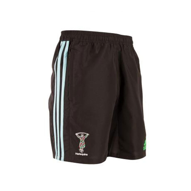 ADIDAS harlequins rugby punjab training shorts [black]