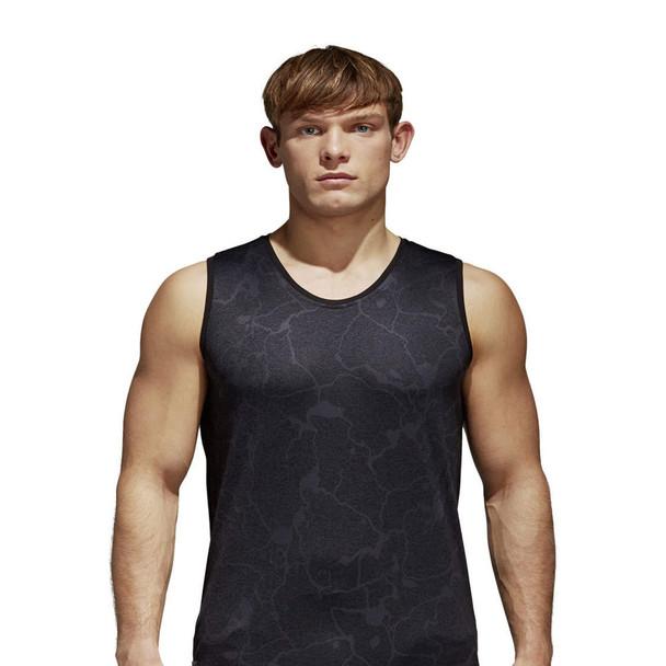ADIDAS New Zealand all blacks rugby luxury vest [night grey]