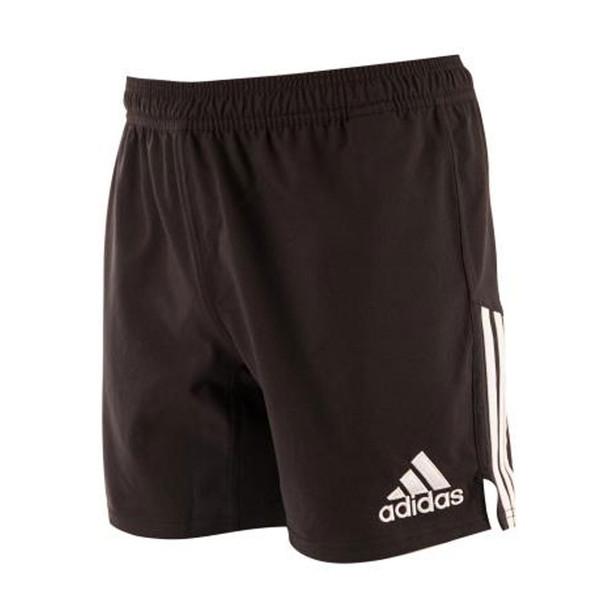 ADIDAS 3 stripe rugby shorts [black]