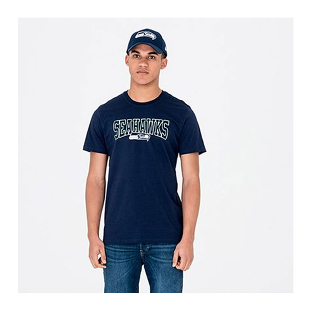 NEW ERA Seattle Seahawks Team Tee Shirt [navy]