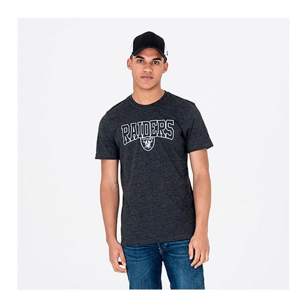 NEW ERA Oakland raiders NFL team t-shirt [grey]