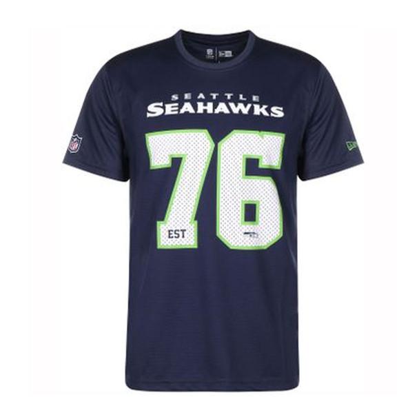 NEW ERA Seattle Seahawks NFL Supporter Tee Shirt [navy]