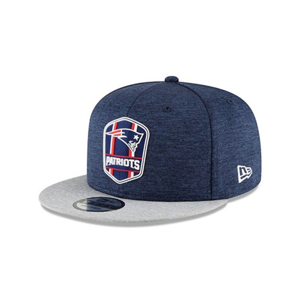 NEW ERA New England patriots 2018 sideline away 9fifty snapback [navy]