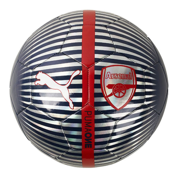 PUMA arsenal supporter football size 5 [navy/silver/red]