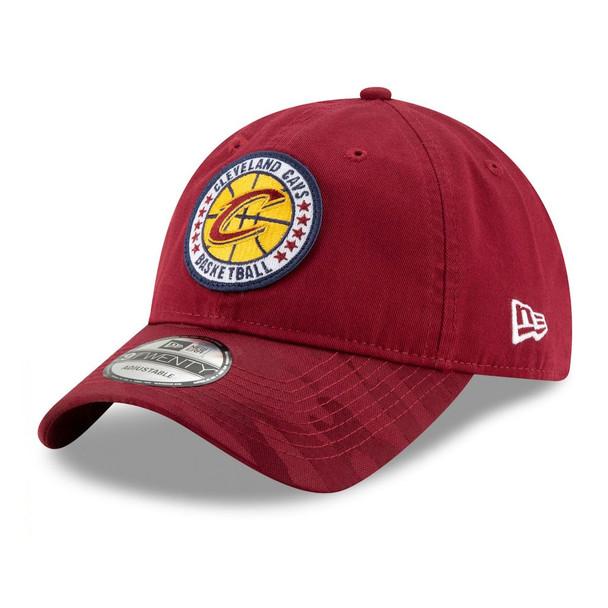 NEW ERA cleveland cavaliers adjustable Tip Off series 9twenty NBA basketball cap [granat]