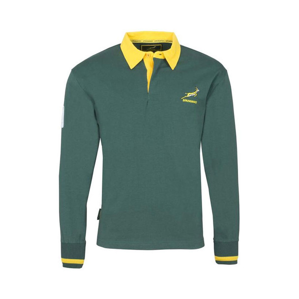Brandco south africa springboks rugby Jersey [green]