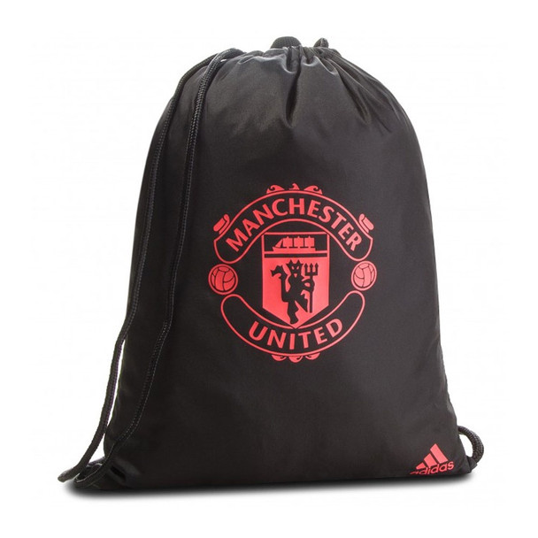 ADIDAS Manchester United Football Gym Bag [black/red]