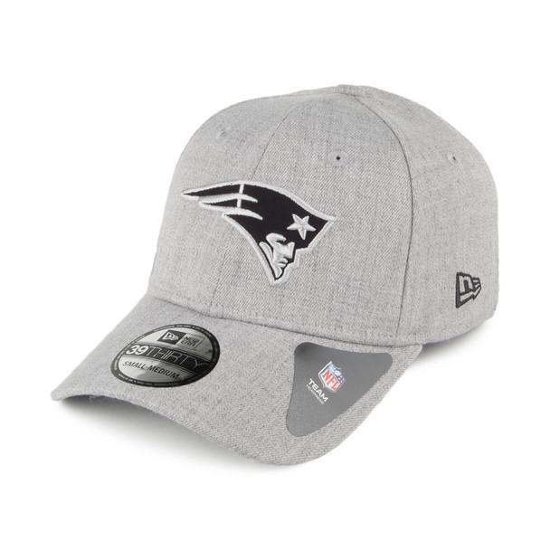 NEW ERA New England Patriots 39Thirty Heather Essentials cap small/medium [grey]