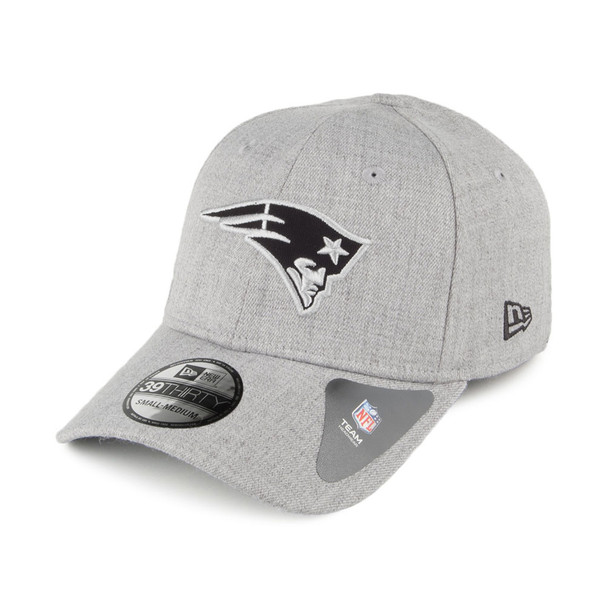 NEW ERA New England Patriots 39Thirty Heather Essentials cap medium/large [grey]