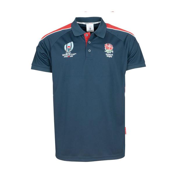 RWC 2019 Mens England Rugby Centre Tech Polo [navy]