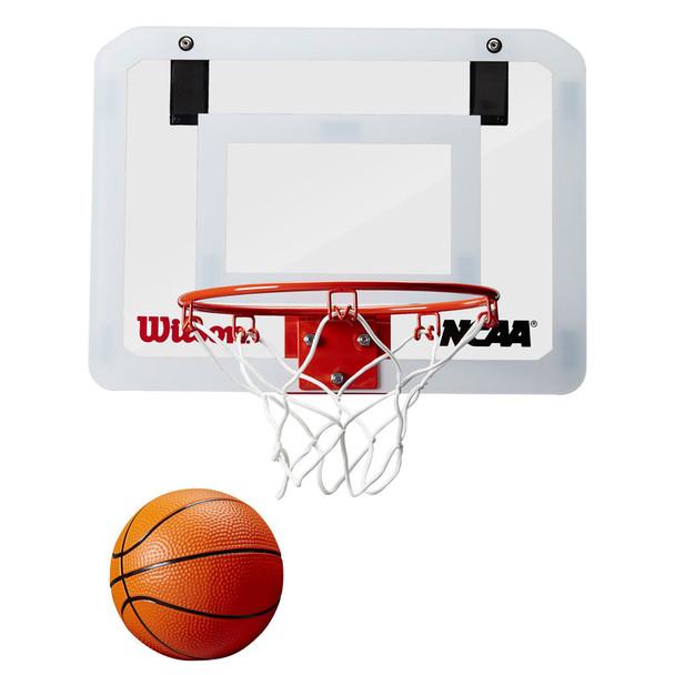 WILSON showcase NCAA basketball mini hoop door set