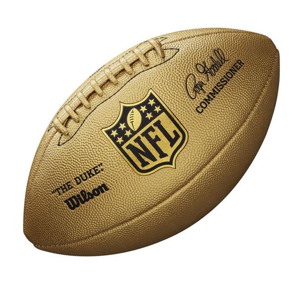 WILSON duke NFL metallic LTD ED american football [gold]