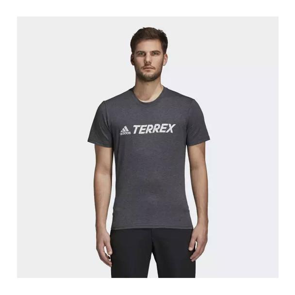 ADIDAS  Logo Tee [grey/white]