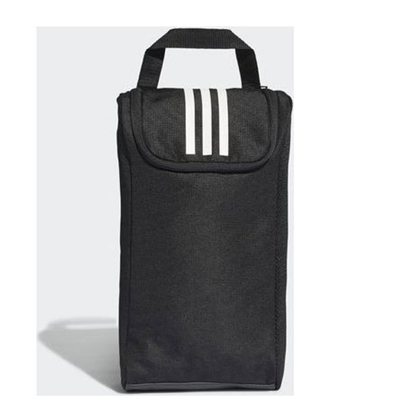 ADIDAS 3 stripes shoe bag [black/white]