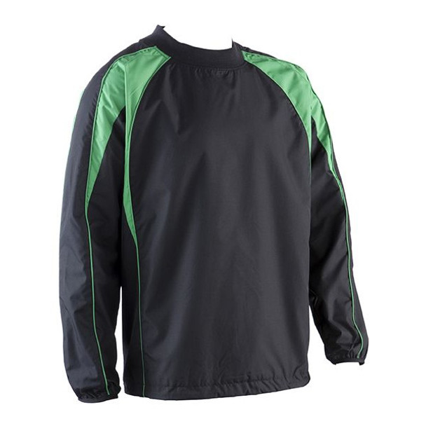 EGGCATCHER wagga wagga rugby contact top [black/green]
