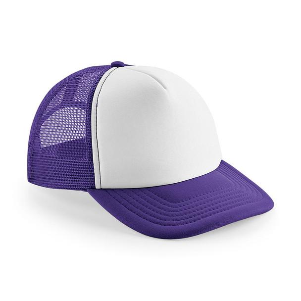 EGGCATCHER wollongong retro trucker cap [purple/white]