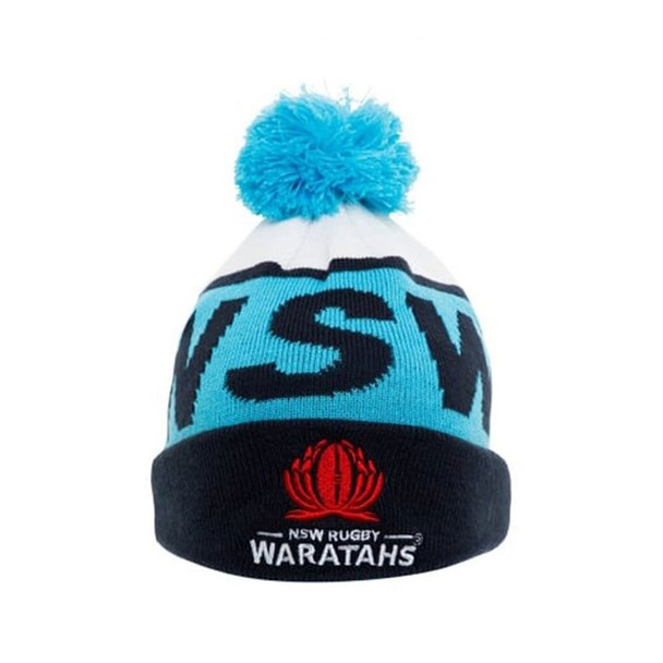 CCC rugby NSW waratahs bobble beanie Hat [blue/navy]