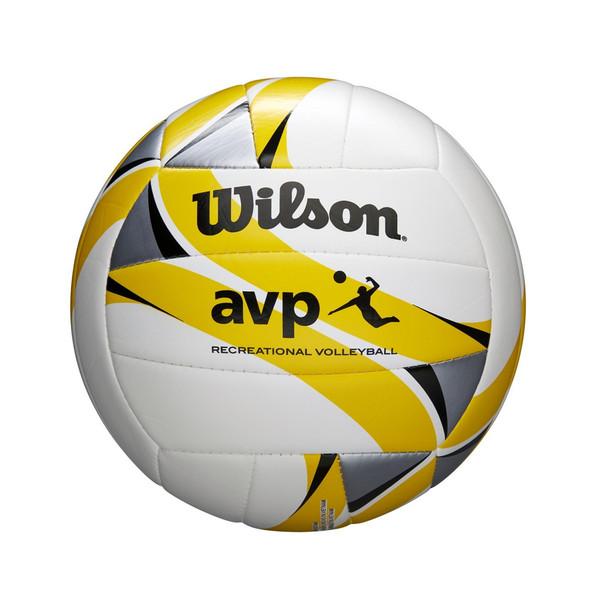 WILSON AVP Recreation game volleyball [white/yellow]