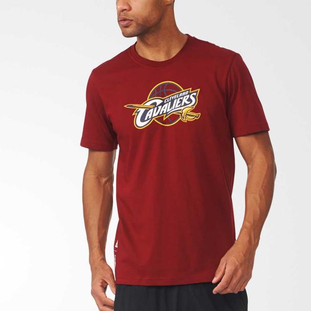 ADIDAS cleveland cavaliers basketball fanwear t-shirt [maroon]