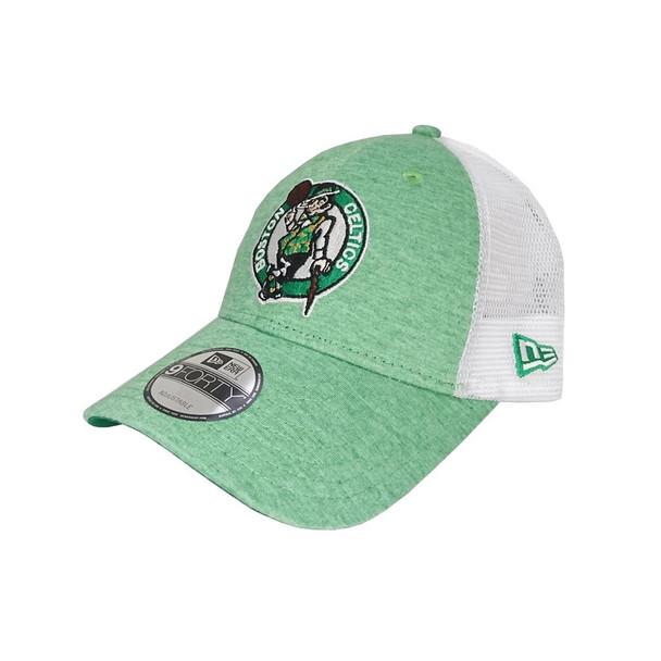 NEW ERA NBA Boston Celtics summer league 9Forty trucker cap [white/green]