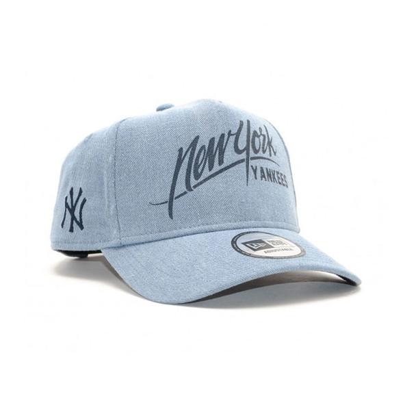NEW ERA A Frame New York Yankees Baseball Adjustable cap [denim]
