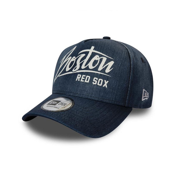 NEW ERA MLB Boston Red Sox Denim A Frame cap [denim]