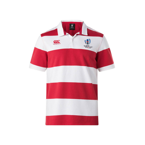 CCC Rugby World Cup 2019 Hoop Rugby Shirt [white/red]