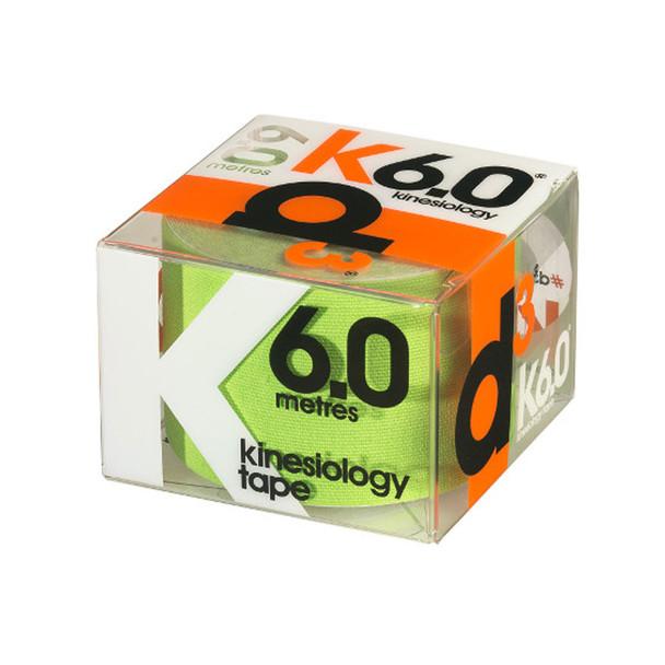 D3 kinesiology tape K6.0  (single) 50mm x 6m [lime]