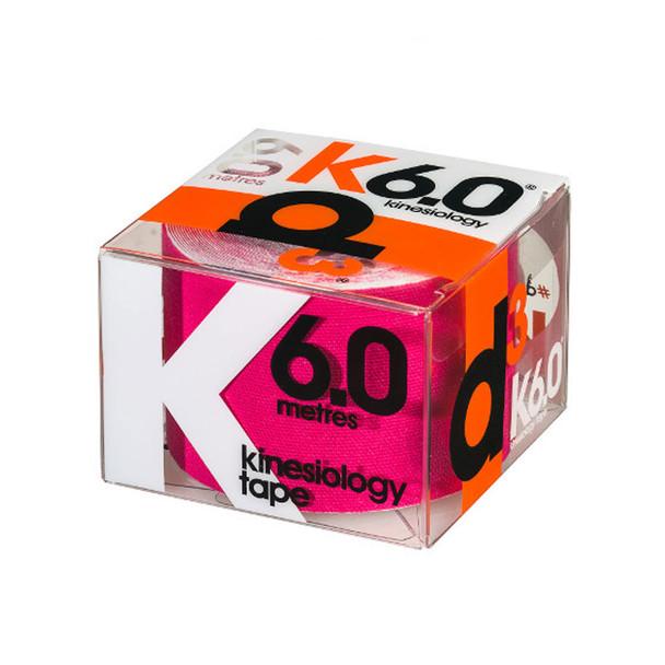 D3 kinesiology tape K6.0  (single) 50mm x 6m [pink]