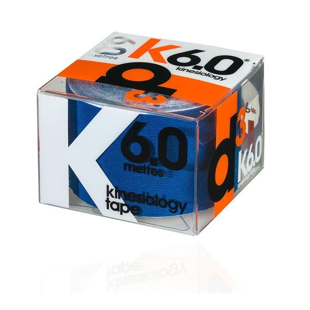 D3 kinesiology tape K6.0  (single) 50mm x 6m [royal]