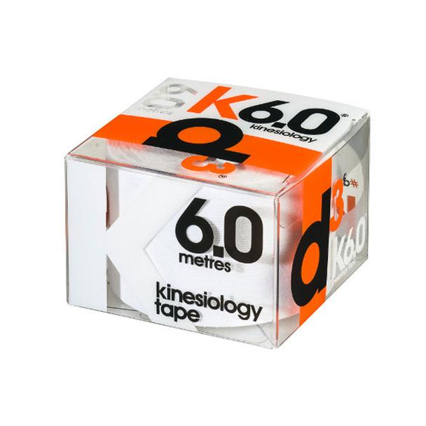 D3 kinesiology tape K6.0  (single) 50mm x 6m [white]