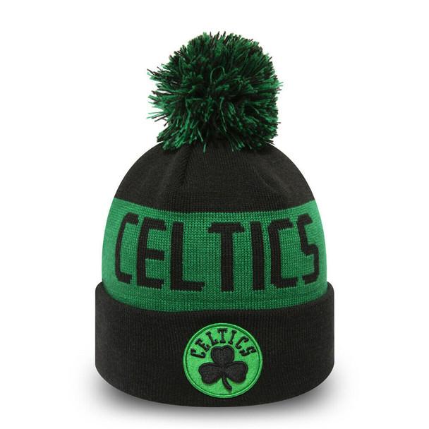 NEW ERA boston celtics team tonal knit hat [black]