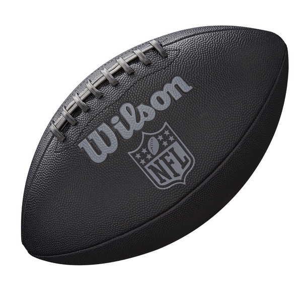 WILSON jet black NFL senior american football [black]